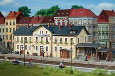 Auhagen 11346 H0 Bausatz Bahnhof Klingenberg-Colmnitz NEU | eBay