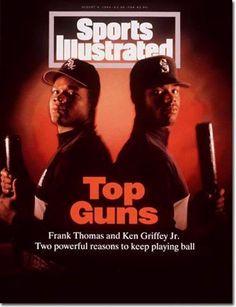 Frank Thomas and Ken Griffey Jr.