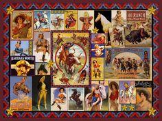 I love Vintage cowgirls!