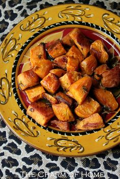 The Charm of Home: Cuban-Style Roasted Sweet Potatoes