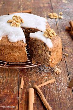 Zimtsternkuchen mit Zimtstern Dekoration, von Vergissmein-nicht