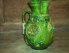 wine jug - Hungarian folk pottery
