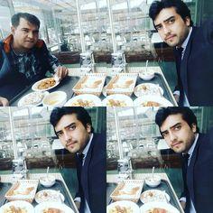 with my dear friend aman ozbek in istanbul turkey