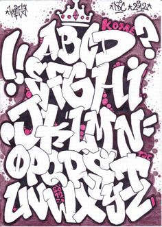 graffiti letters - Google Search