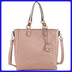MKF Collection Mila Crossbody Tote Handbag by Mia K. Farrow (Light Tan) - Totes (*Amazon Partner-Link)
