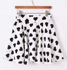 Lovely Heart Skirt