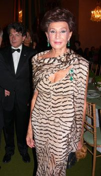 jacqueline de ribes, french fashion designer, 83