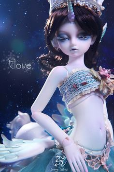 Eloise Unicorn Ver., Loong Soul Special Doll - BJD Dolls, Accessories - Alice's Collections
