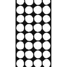 Marimekko Kivet White/Black Upholstery Fabric $68.00