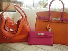 34cm Lindy - Kelly wallet longue - 35cm Birkin Hermes Wallet, Hermes Bags, Tadelakt, Birkin, Handbags, My Style, Fashion, Moda, Totes