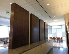 TorZo Tiikeri wall panels in corporate office designed by HOK