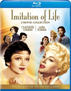 Imitation of Life (1934) and (1959) - Blu-Ray (Universal Region A) Release Date: April 7, 2015 (Amazon U.S.)