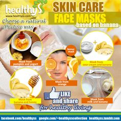 We present You the best natural face masks (facial masks) for a shiny face skin !