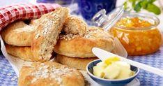Glutenfria tekakor med havregryn Gluten Free Baking, Gluten Free Recipes, Savoury Baking, Our Daily Bread, Foods With Gluten, Something Sweet, No Bake Desserts, Lchf, Keto