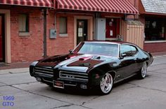 1969 Pontiac GTO. I think 1969 made Muscle Car history, what do you think ?