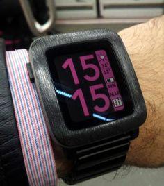 Watchface recomendada: Timestyle #pebble #watchface
