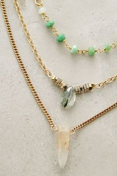 Astree Layered Necklace - anthropologie.com #anthrofave