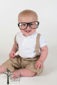 6 month baby pictures- this one would be just for Tom :o)