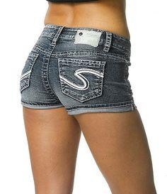 cute jean shorts #Dillards