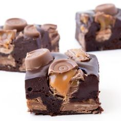 Amazing Rolo Brownies