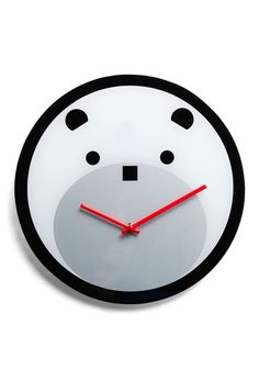 Bearly Time Clock, $34.99  Who wouldn't want to tell the time on this?!