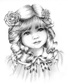 Lizzzie - children's face