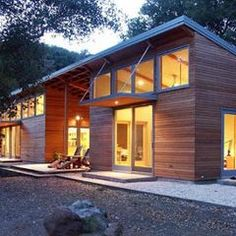 modern exterior by Klopf Architecture | Roof Awnings and Overhangs ...