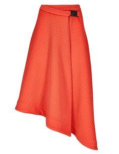 Textured Wrap Asymmetrical Skirt | M&S