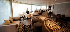 #Pullmantur Sovereign - A look at the Mediterranean Breezes Itinerary. The #WU #Restaurant
