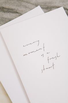 Every Moment Is A Fresh Start - Greeting Card