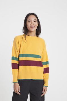 4 Brands Making the Comfiest Vegan Sweaters - Kale & Cotton Vegan Fashion, Slow Fashion, Ethical Fashion, Vegan Clothing, Clothing Items, Vegan Shopping, Fair Trade Fashion, Eco Friendly Fashion, Rounding