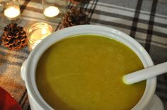 MENU: curry-scented butternut squash + apple soup [field notes]
