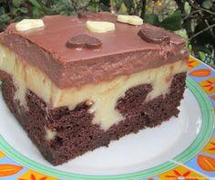 Moje pyszne, łatwe i sprawdzone przepisy :-) : Ciasto budyniowy król/poke cake Poke Cakes, Homemade Cakes, Tiramisu, Cake Recipes, Raspberry, Cheesecake, Lemon, Food And Drink, Cooking
