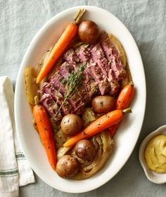 Classic Slow-Cooker Corned Beef and Cabbage recipe