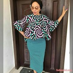 Breathtaking Ankara Skirt and Blouse Styles for Beautiful Mother - DeZango Fashion Zone