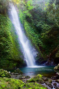 Kabigan Falls, Ilocos, Philippines