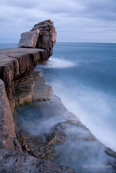 ✮ Pulpit rock at Portland Bill, near Weymouth, Jurassic Coast, Dorset, England by Ian Middleton The Places Youll Go, Places To See, Beautiful World, Beautiful Places, Dorset England, England Uk, Jurassic Coast, Wonders Of The World, Landscape Photography