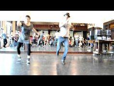 Juan Villafañe and Sharon Davis - solo charleston  Song - Happy feet