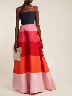Women's Designer Gowns Evening Dresses, Prom Dresses, Formal Dresses, Couture Fashion, Runway Fashion, London Fashion, Vestidos Carolina Herrera, Fancy Gowns, Dress Vestidos