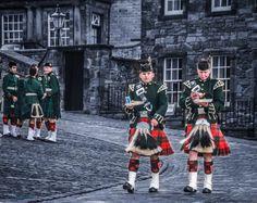 """Back Stage' at The 2012 Edinburgh Military Tattoo"