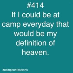 Confessions of campers, counselors, and life long outdoor enthusiasts. Summer Camp Quotes, Youth Camp, Church Camp, Camp Counselor, Camping Life, Camping Beds, Camping Stuff, Day Camp, Christian Memes