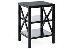 Benson Side Table, Black on OneKingsLane.com