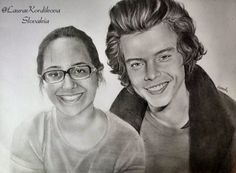Harry Styles with Sarah