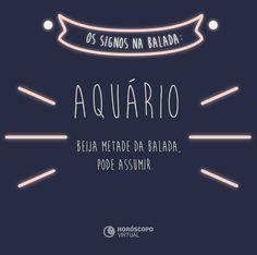 Pronto para a night, aquariano?