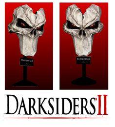 Darksiders 2 Papercraft Death Mask