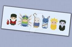 Mini People - Rise of the Guardians cross stitch by cloudsfactory