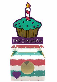 Cupcake Feliz Cumpleaños GUMA