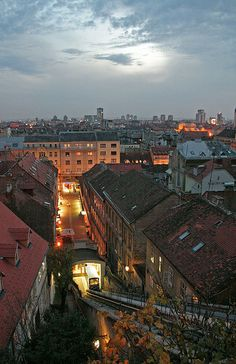 In Zagreb - the Uspinjaca