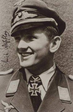 ■ Oblt Erich Weissflog (1919-1999) RK NJG-1