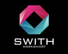 SWITH WORK SMART Logo design - This logo is ideal for a business related to: financial, bank, consulting, marketing, security, developement, seafood, computer services, research, marketing, support services, resort, financial advisors, software, promotions, insurance, investments, media, studio, production, capital, marketing, media, advertising, agency, web, Technology, media, multimedia, design agency, information technologies, communication, telecommunications, internet, streaming, web…